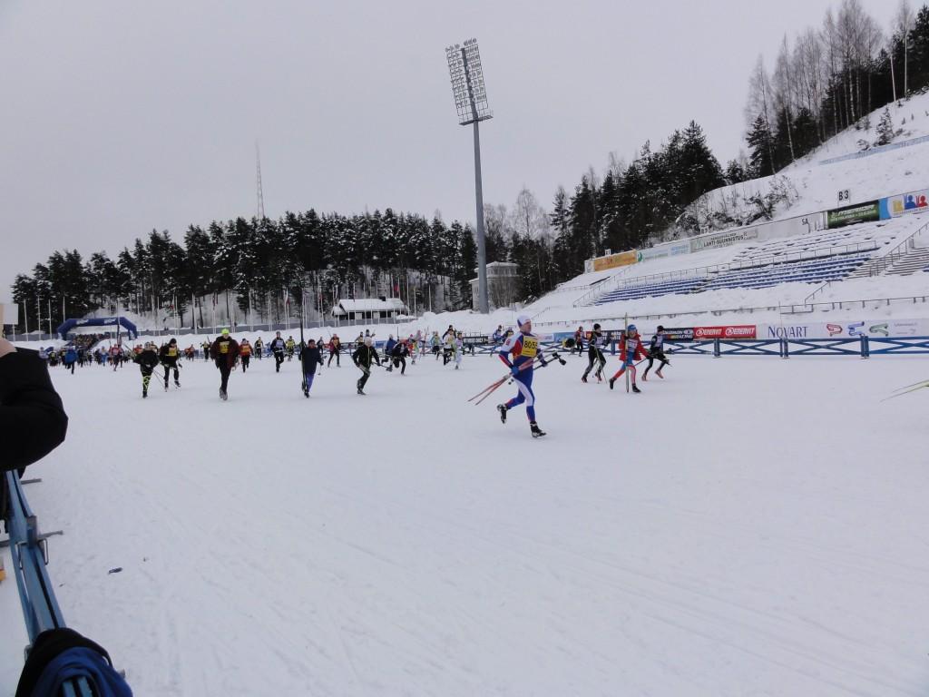 Départ de la Finlandia
