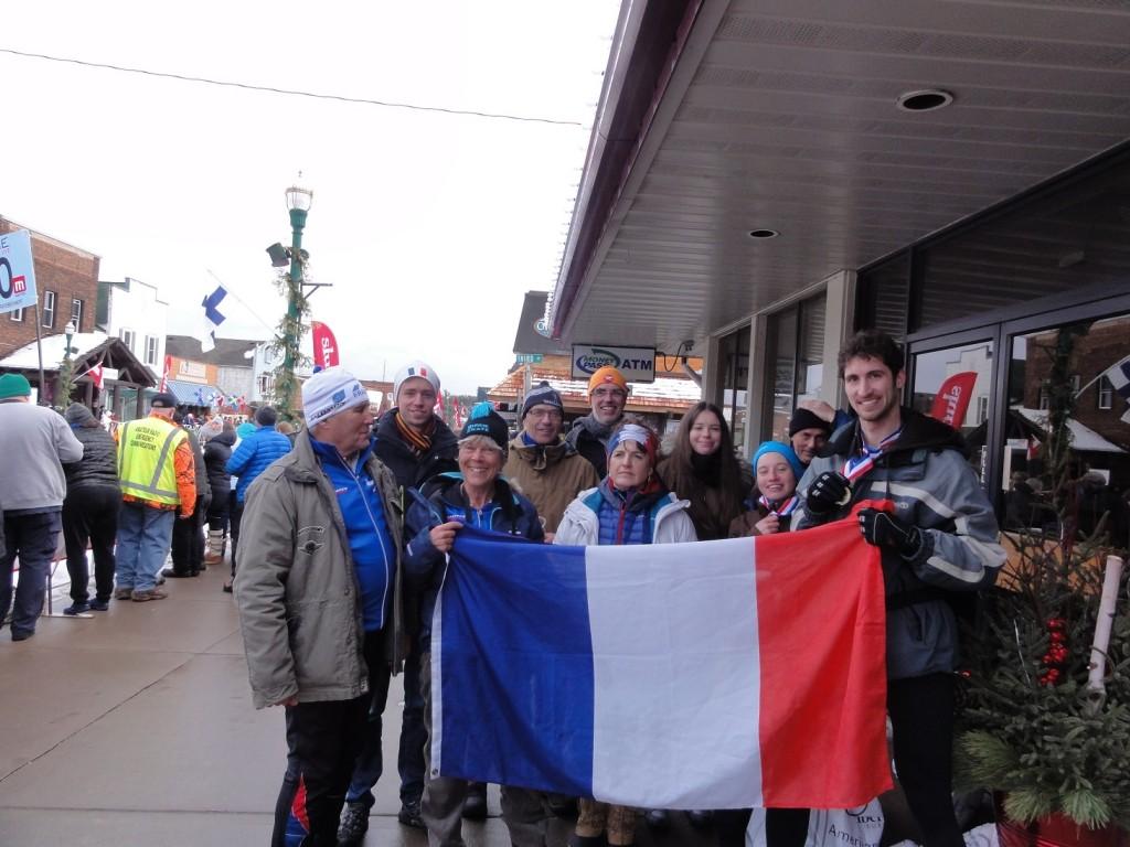 Notre équipe de français à la Birkie 2016
