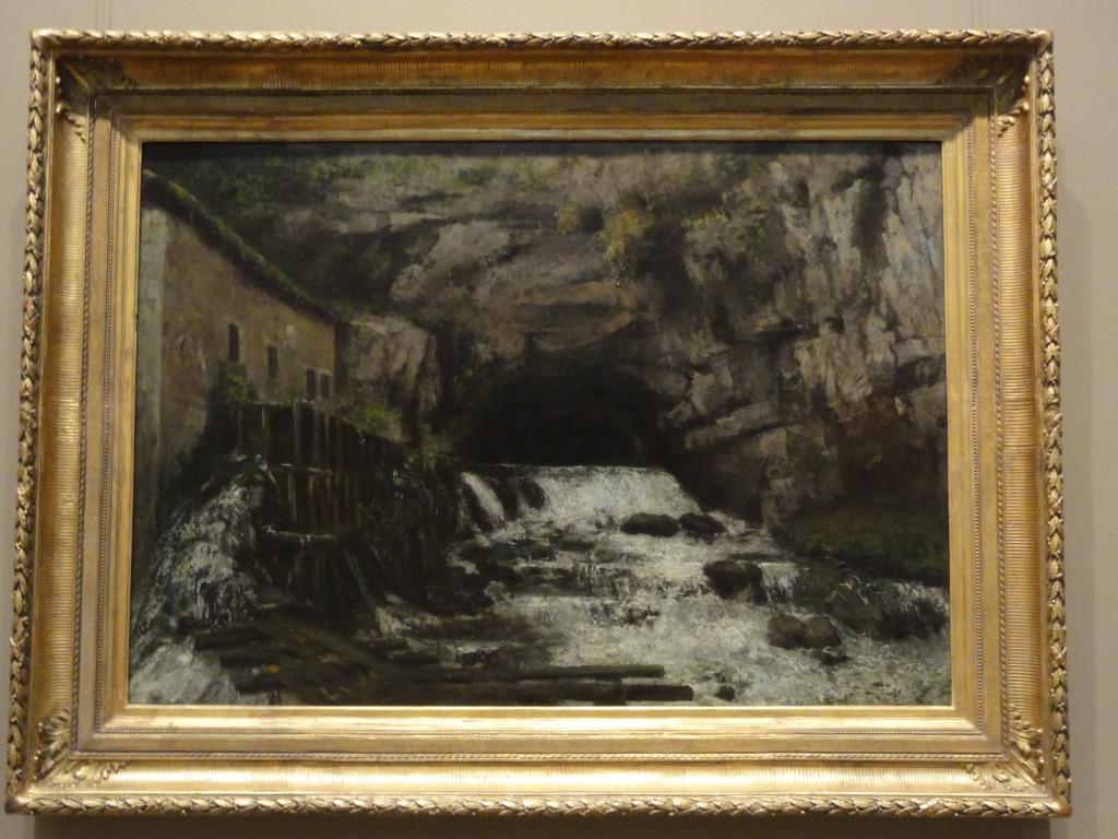 Courbet- Source de la Loue