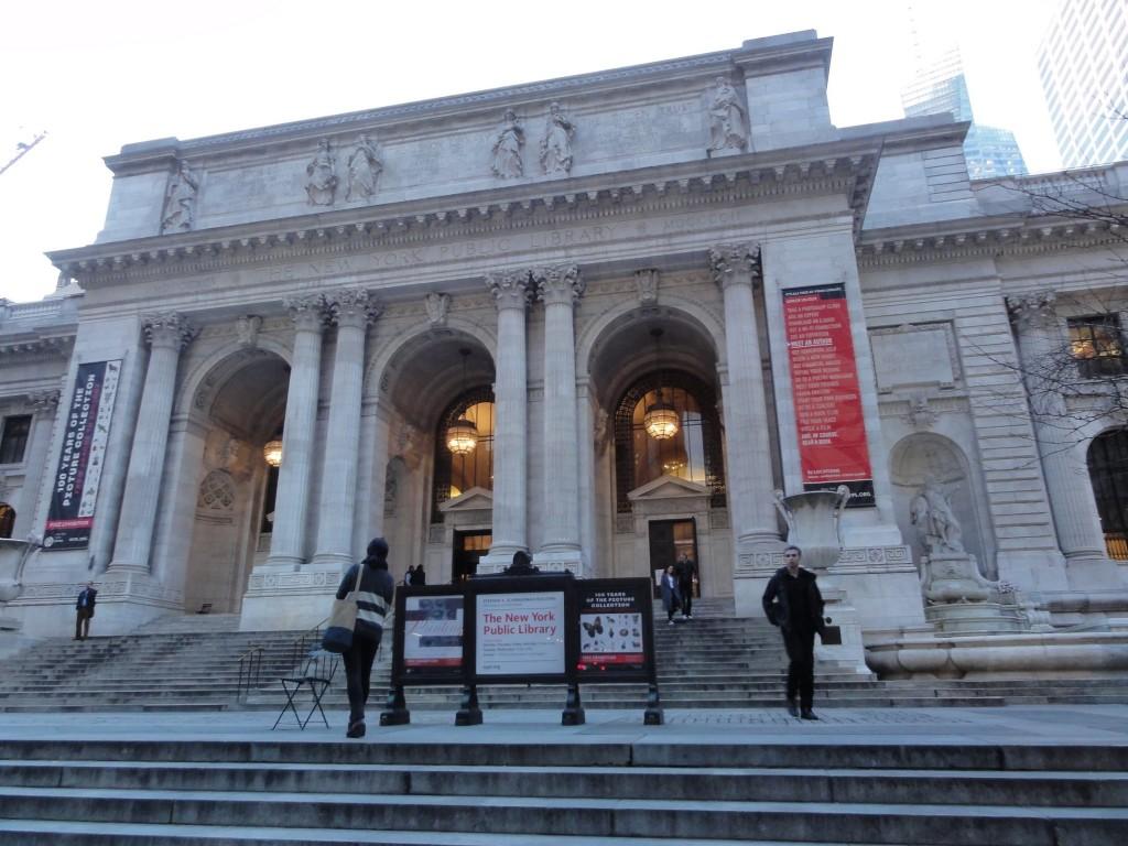 Librairie publique de new York