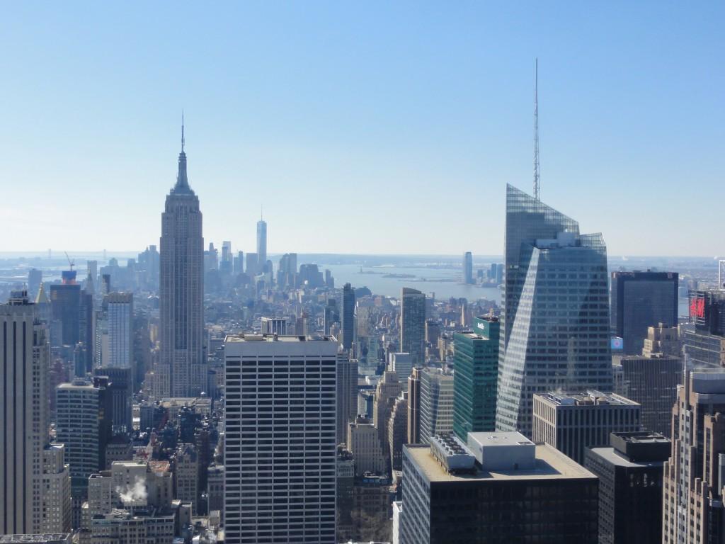 vue sur Downtown avec Empire