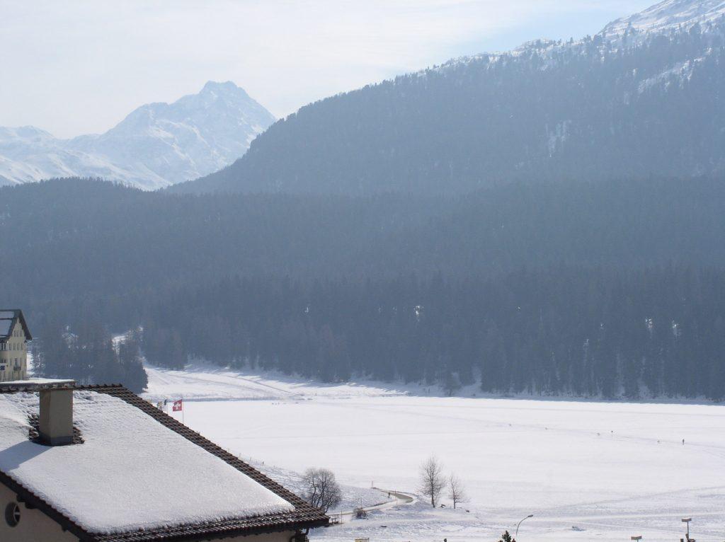 Large vallée alpestre